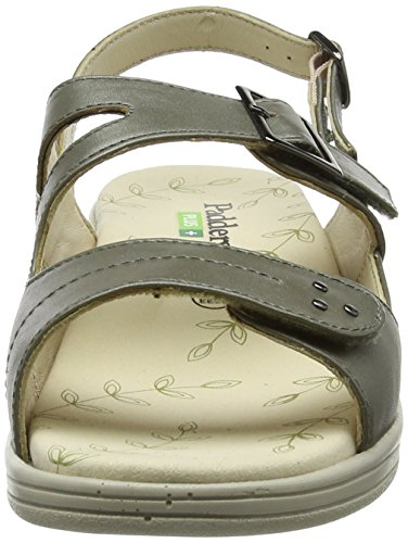 Plus Gris Padders Sandalias pewter 18 Para De Descubierta Sunray Punta Mujer ZnfRxgn