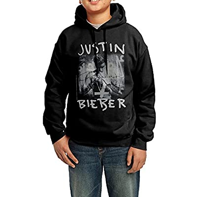 Moka7u Big Boys/Girls Justin Bieber Hoodie