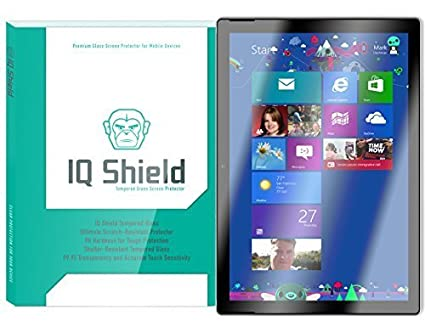 new styles d4cd5 eaeb4 Surface Pro 4 Screen Protector (Surface Pro 2017), IQ Shield Tempered  Ballistic Glass Screen Protector for Microsoft Surface Pro 4 99.9%  Transparent ...