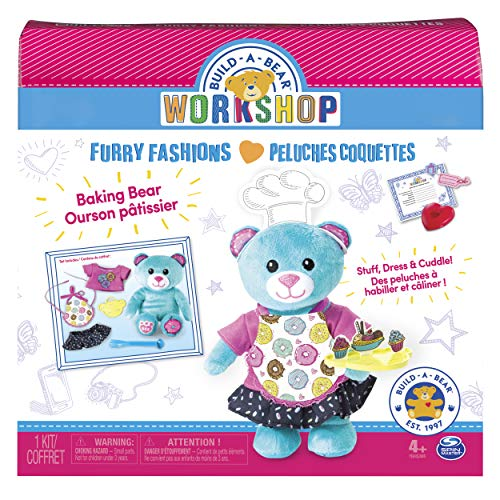 Build A Bear Workshop - Furry Fashions - Baking Bear from Build A Bear