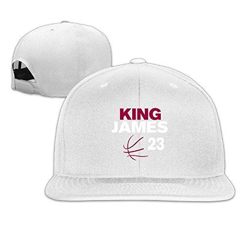 JAX D Adult Lebron Basketball #23 Casual Baseball Hats Caps White Corona Cowboy Hat
