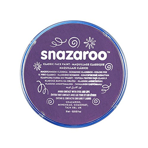 Snazaroo Face Paint 18ml Individual Color, Purple image