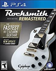Rocksmith 2014 Edition Remastered - PlayStation 4 Standard Edition