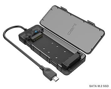 Carcasa Box Externa USB C 3.1 Gen2 para M.2 NGFF SATA SSD ...