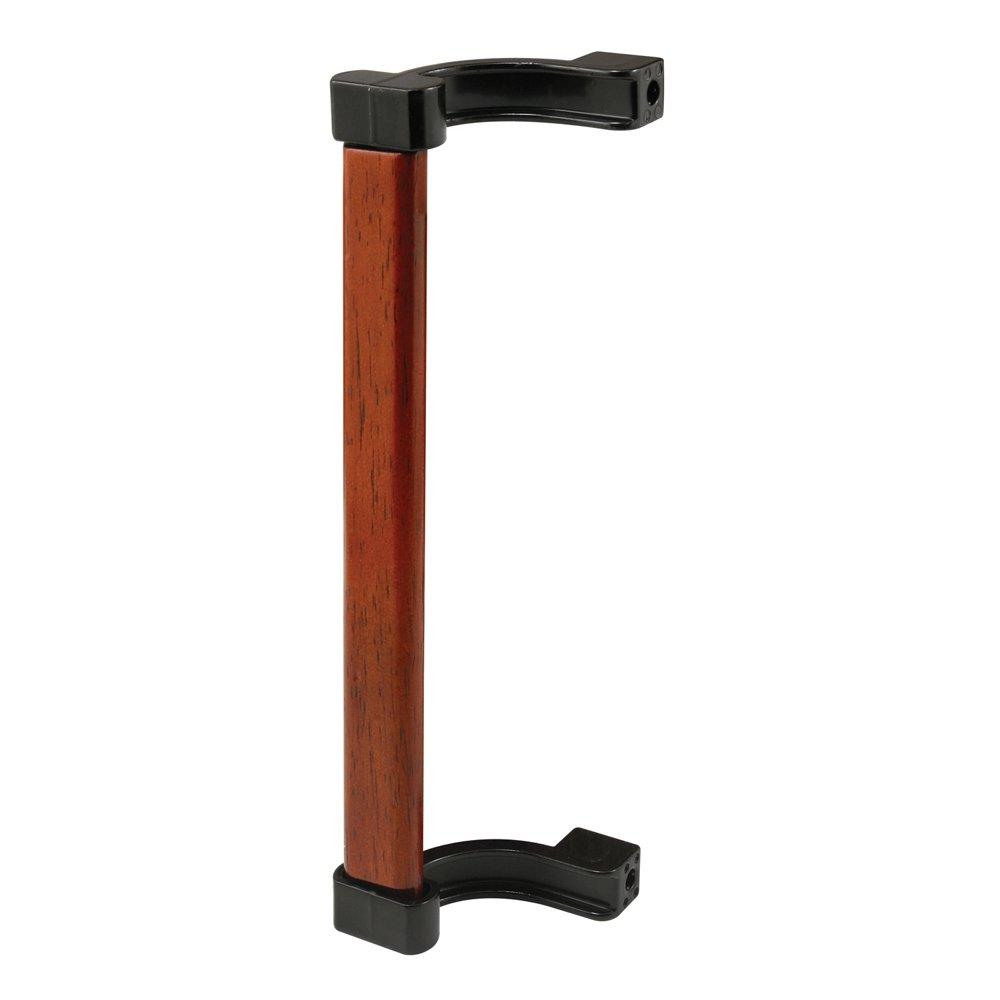 Slide-Co 142258 Wood Insert Sliding Door Outside Pull Black