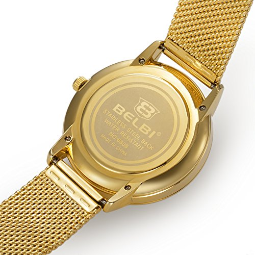 Amazon.com: Reloj Women Relojes De Mujer En Oferta Moda Ultra Thin Relojes Quartz Stainless Steel Band RE0071: Watches