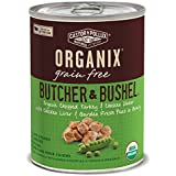 Organix Butcher & Bushel Chopped Turkey & Chicken Dinner with Chicken Liver & Garden Fresh Peas Grain-Free Adult Dog Food, 12.7-Ounce Cans