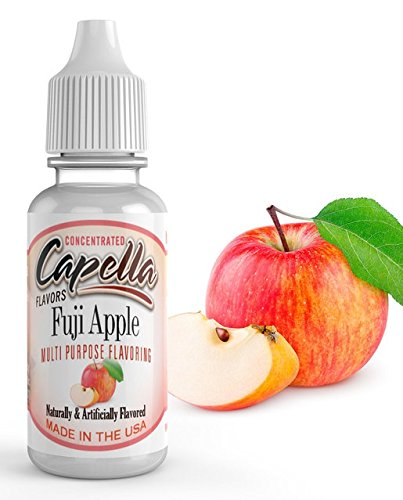 Capella Flavor Drops Fuji Apple Concentrate 13ml (Best Vape Juice Brands)