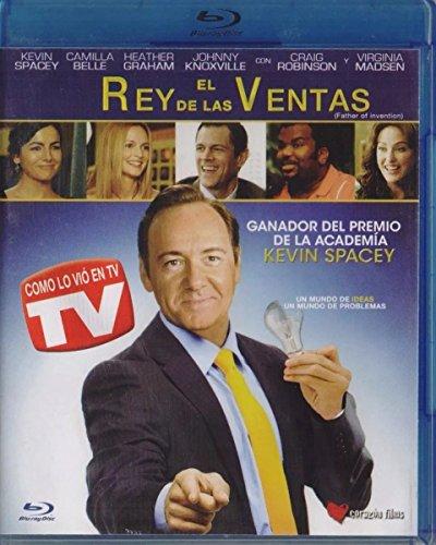 El Rey De Las Ventas Father Of Invention Pelicula En Blu-ray