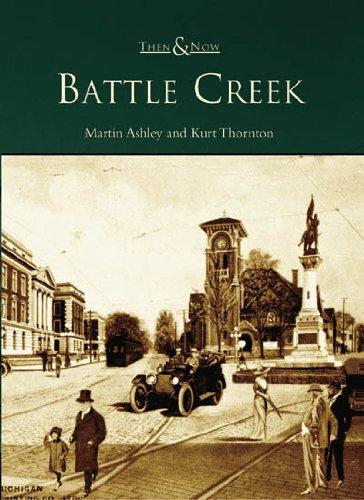 Square Flag Battle (Battle  Creek  (MI)   (Then  &  Now))