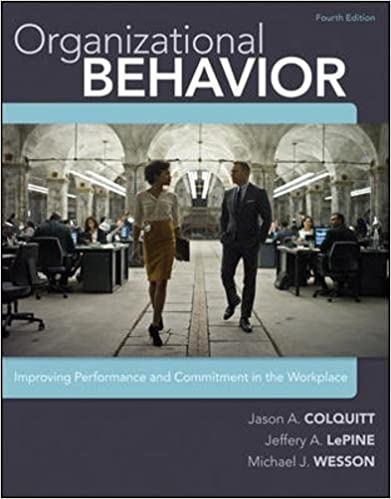 Organizational behavior improving performance and commitment in the organizational behavior improving performance and commitment in the workplace 9780077862565 human resources books amazon fandeluxe Image collections