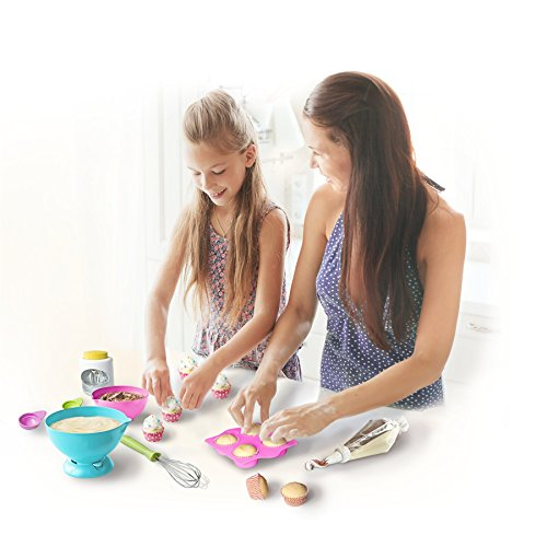 Real Cooking Ultimate Baking Starter Set - 37 Pc. Kit Includes Sprinkles, Cake & Frosting Mix