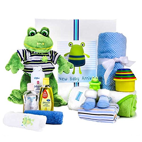 It's a Boy Frog Theme from Gift Basket