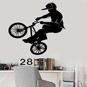 Zaosan Bicicleta Deportes Extremos PVC Vinilo Pegatinas de Pared ...