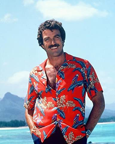 Image result for tom selleck magnum pi