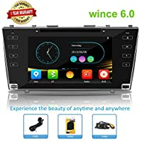 Car Stereo Double Din Car Head Unit Radio Double Din GPS Auto Stereo Wince Car Radio for Toyota Camry 2006-2011 With Bluetooth Touch Screen with GPS Navigation for Car …