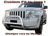 03 jeep liberty bull bar - MaxMate Premium Custom Fit 2002-2012 Jeep Liberty/07-2011 Dodge Nitro Stainless Steel Sport Nudge Bar Bumper Bull Guard