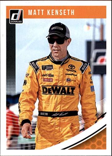 2019 Donruss Racing #74 Matt Kenseth DeWalt/Joe Gibbs Racing/Toyota Official NASCAR Trading ()
