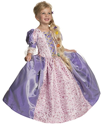 Rubie's Deluxe Princess Alexandra Costume, Purple, (Girls Lilac Fairy Costumes)