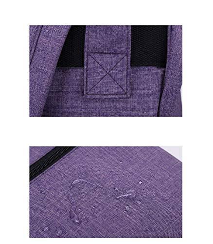 Sac Moontang Violet bandoulière Femme pour Taille Rote coloré qF1dFTZ