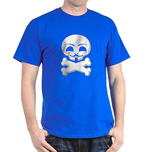 CafePress - Guy Fawkes Vendetta Black T-Shirt - 100% Cotton T-Shirt
