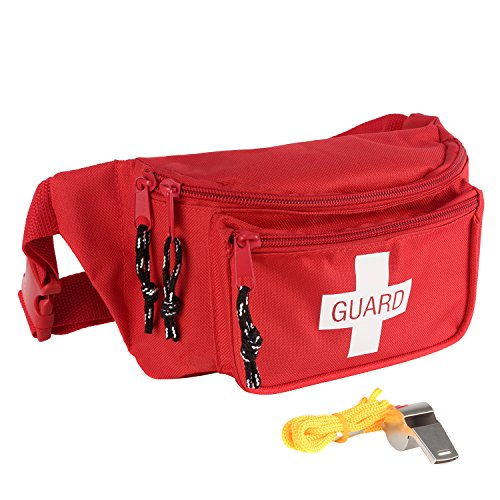 Ever Ready First Aid Fanny Pack/Hip Pack (Fanny Pack with Whistle)