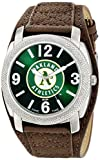 "Game Time Men's MLB-DEF-OAK ""Defender"" Watch - Oakland A's"