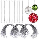 Nuanchu 300 Pieces Christmas Ornament Hangers Snap
