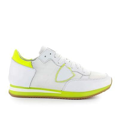 Philippe Model Scarpe da Uomo Sneaker Tropez Mondial Giallo