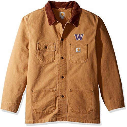 NCAA Washington Huskies Boy s Verwitterte pflanzengießen Coat