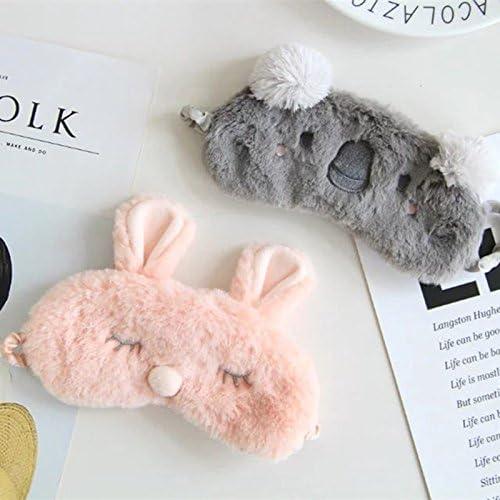 Colour-2 Hosaire Masques de Sommeil Masque des Yeux Relaxation Peluche Mignon Dessin anim/é Koala Opaque Masque Cache Yeux pour Dormir pour Voyage ou Lors des Siestes lapr/ès-midi 19 10CM