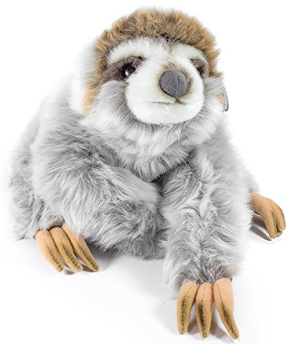 VIAHART Siggy The Threetoed Sloth Baby | 12 Inch Large Madagascar Sloth Stuffed Animal Plush | by Tiger Tale Toys ()