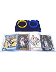 Golden State Warriors Cards: Stephen Curry, Kevin Durant, Klay Thompson, Draymond Green ASSORTED Trading Cards and Wristbands Bundle
