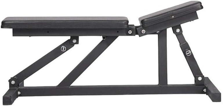 ダンベルベンチ ホームフィットネスチェア多機能フィットネスダンベルトレーニングビッグフラットスツール商業ジムスポーツ機器ベンチベアリング トレーニングベンチ (色 : ブラック, サイズ : 120x45x35cm) ブラック 120x45x35cm