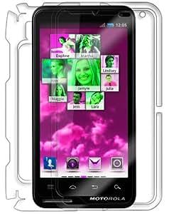 Skinomi TechSkin - Motorola Motoluxe Screen Protector Ultra Clear Shield + Full Body Protective Skin + Lifetime Warranty