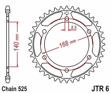 JT Sprockets JTR6.47 47T Steel Rear Sprocket