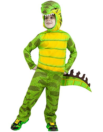 Fun World Costumes Baby Boy's T-Rex Toddler Costume, Green, Large -