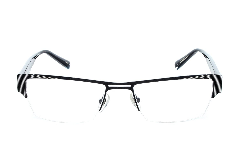 Argyleculture by Russell Simmons Designer Eyeglasses Rodgers in Black ; Demo Lens