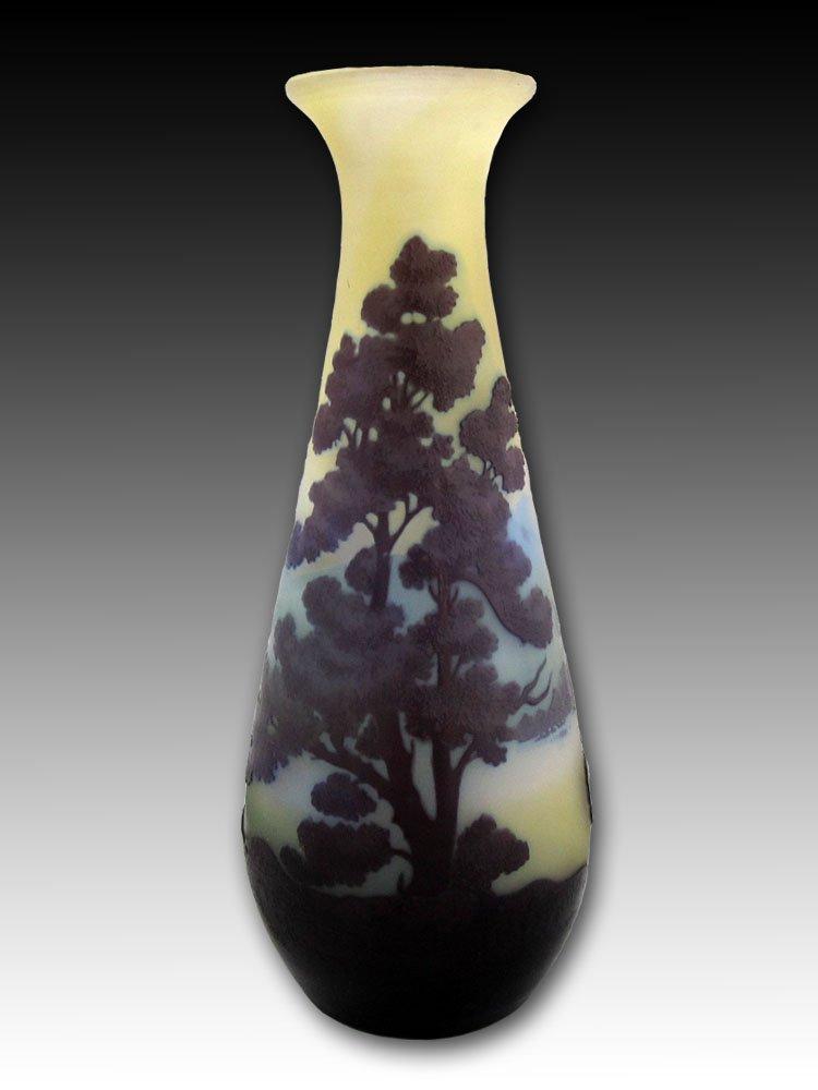 エミールガレ ヴォージュ山脈風景紋 花瓶 B01NBTNJMX