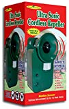 Ultrasonic Cordless Repeller Safely Repel Various Animals Pest Covers 5000sq ft