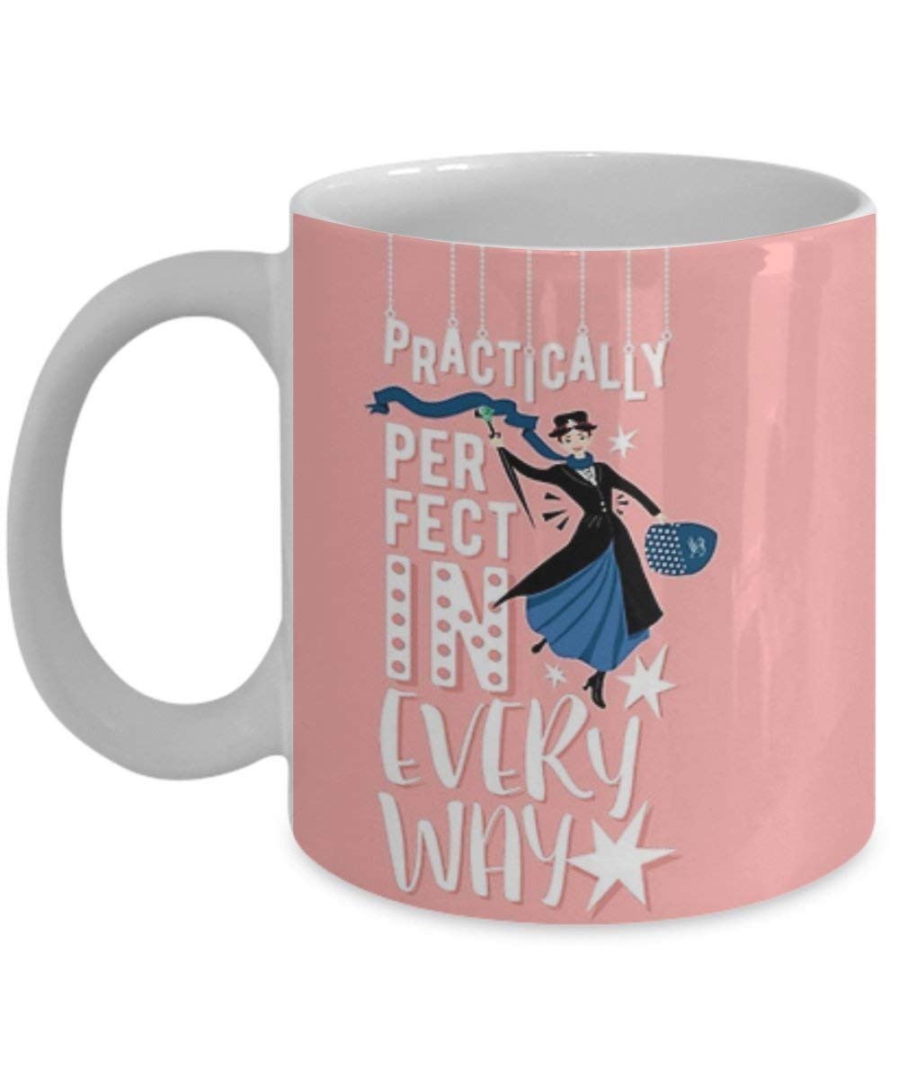 Lneng Mary Poppins - Coffee Mug, Tea Cup, Funny, Quote, Gift Idea for Him or Her, Women and Mother, Father