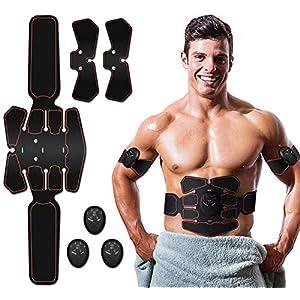 EGEYI Electrostimulateur Musculaire,EMS Ceinture Abdominale Electrostimulation,Appareil Abdominale Stimulation Massage…