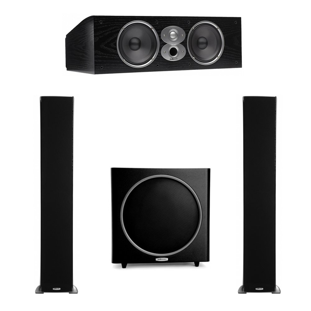 Polk Audio RTi 3.1 System with 2 A9 Tower Speakers, 1 CSi-A6 Center Speaker, 1 Polk PSW125 Subwoofer by Polk Audio