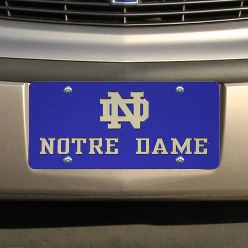WinCraft Notre Dame S13013 Acrylic Classic License Plates ()