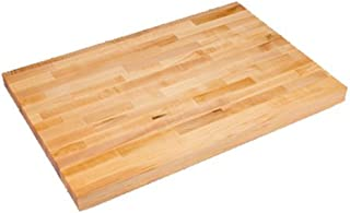 """product image for John Boos SC015-O Work Table Top, 96"""" W X 30"""" D, 1-3/4"""" Butt Jointed Laminated Hard Rock Maple"""
