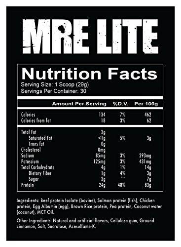 Redcon1 MRE Lite, Protein Meal Replacement, Pecan Pie