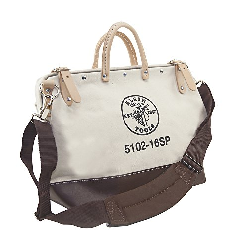 Deluxe Canvas Tool Bag, 16-Inch Klein Tools -