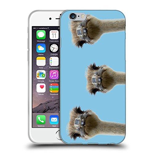 GoGoMobile Coque de Protection TPU Silicone Case pour // Q05530609 3 autruches Bambina blu // Apple iPhone 7