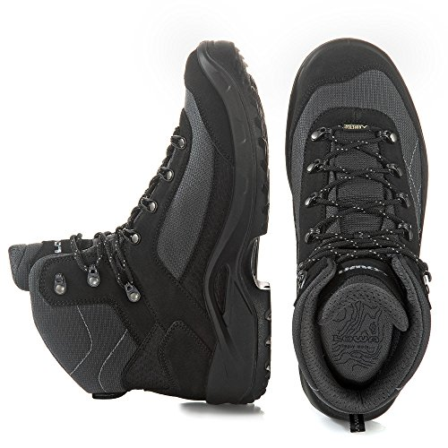 Gorgon GTX Rise Men's Boots Black High Hiking Lowa gdxSFg