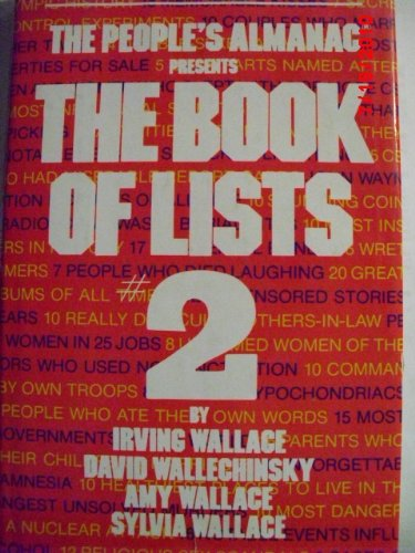 The People's Almanac Presents The Books of Lists, No. 2
